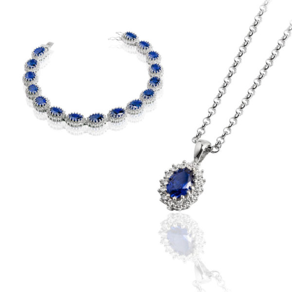 Argento 925 Collana orecchini  Madì Luxury Collection