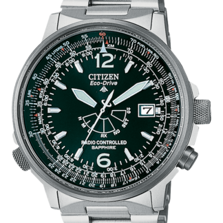orologio uomo citizen radiocontrollato titanio eco-drive AS2031-57E