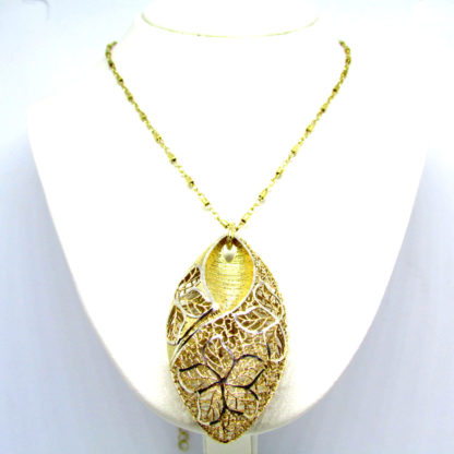 collana donna argento traforato borgunto