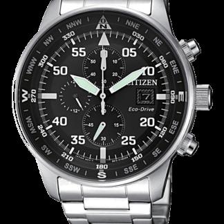 orologio uomo citizen crono aviator CA0690-88E