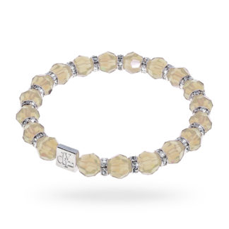 bracciale donna argento pietre colorate diva gioielli bigiotteria italy