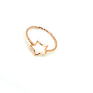 anello donna oro rosa