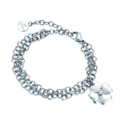 bracciale donna acciaio Luca Barra gioielli bigiotteria