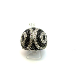 anello donna argento zirconi