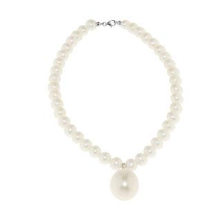 Bracciale donna oro bianco perle acqua dolce Genesia Perle