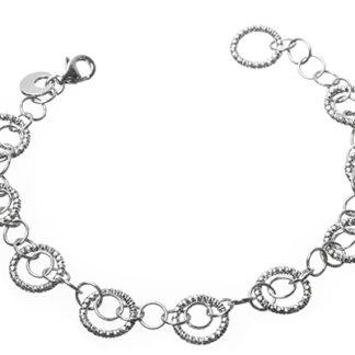 Bracciale donna argento Diamond Cerchi Madì Gioielli