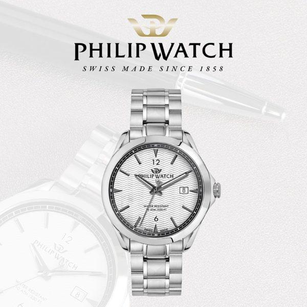 Orologio uomo Philip Watch Blaze acciaio