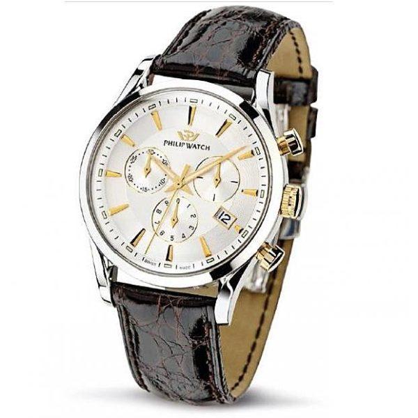 Orologio uomo Philip Watch Sunray Cronografo Acciaio R8271908009