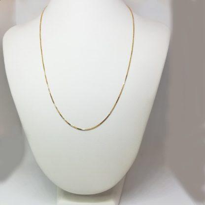 Catena donna oro giallo Veneziana 07614