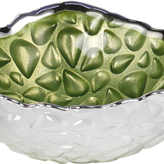 Piatto in vetro e argento Goccia Argenesi 0.00929