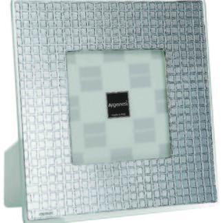 Cornice in vetro argento Mosaico Argenesi 0.010791