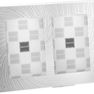 Cornice in vetro e argento Vortice Argenesi 0.013594