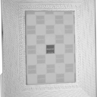 Cornice in vetro e argento Greca Argenesi 0.015583