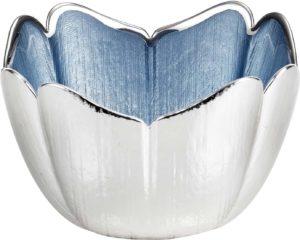 Piatto in vetro e argento Tulipano Argenesi 0.02250