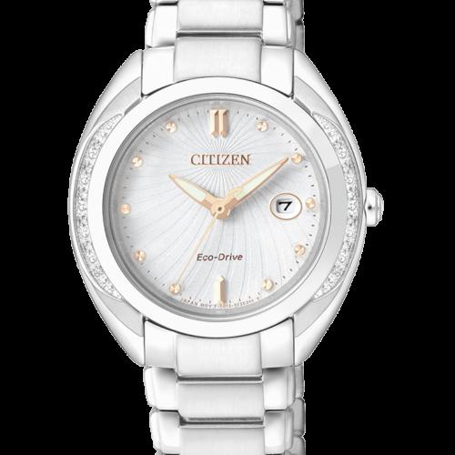 Orologio donna Citizen L 2250 Acciaio EW2250-59A