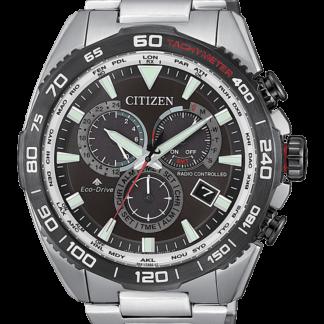 Orologio uomo Citizen Radiocontrollato E660 Motor acciaio CB5036-87X