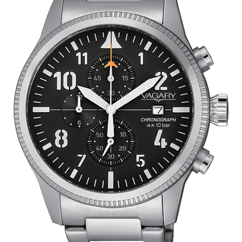 Orologio uomo Vagary Rockwell Crono Acciaio VA1-111-51