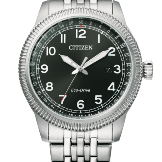 Orologio uomo Citizen Of Collection Aviator Acciaio BM7480-81E