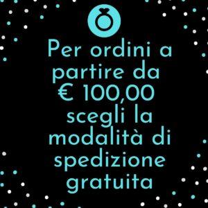 Per ordini a partire da € 100,00 scegli la modalità di spedizione gratuita